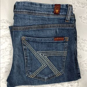 7 For All Man Kind Straight Jeans- Men's 29